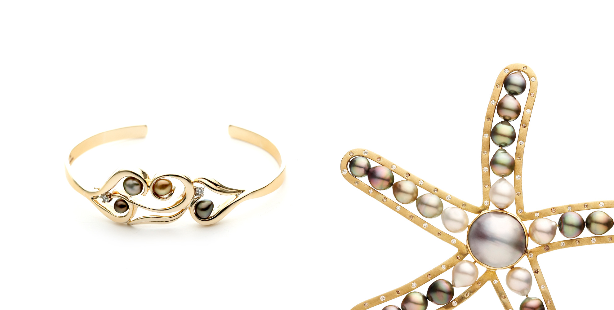 Gold and Pearl Jewellery
