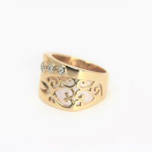 gold filigree ring