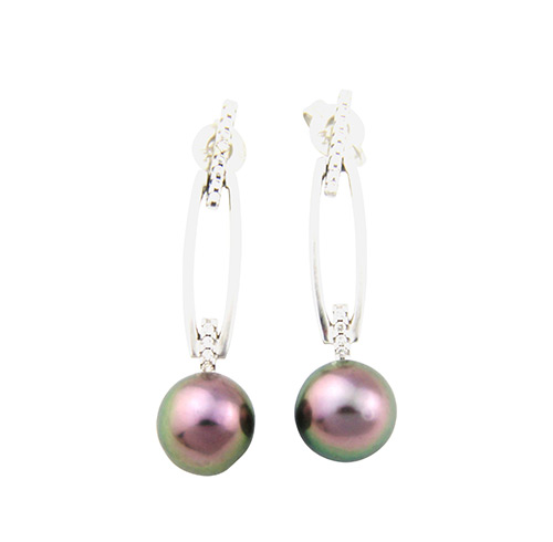 Abrolhos Pearl earrings
