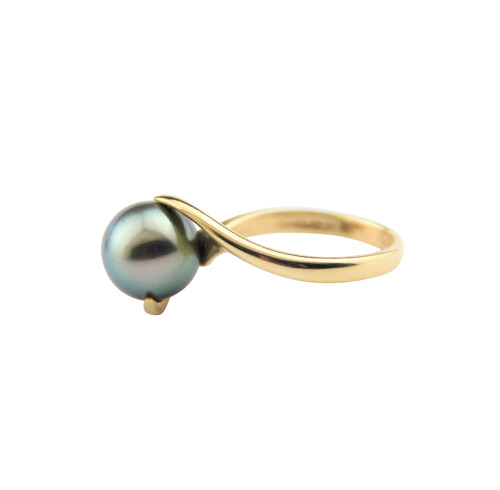 Black Pearl Ring