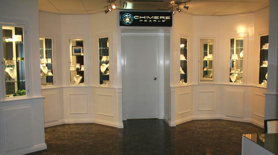 Chimere Pearls showroom